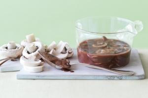 Porto And Mushroom Sauce